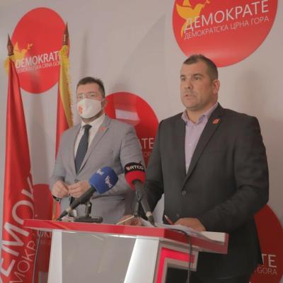 Krapović kandidat za šefa diplomatije, Koprivica i Šaranović za ministre pravde i kulture
