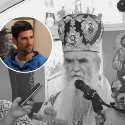 Najbolji teniser svijeta STIŽE u Podgoricu – Đoković dolazi na Amfilohijevu sahranu?