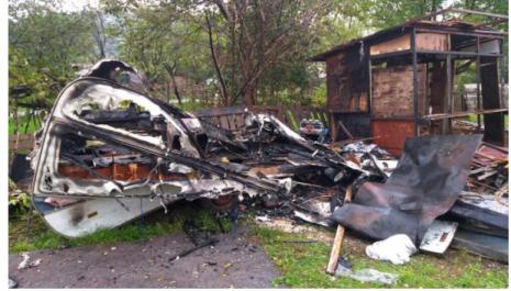 Slavki Adžović izgorjela kamp prikolica gdje je živjela sa sestrom