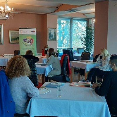 Održan dvodnevni trening za pružanje savjetodavno-terapijskih i socijalno- edukativnih usluga