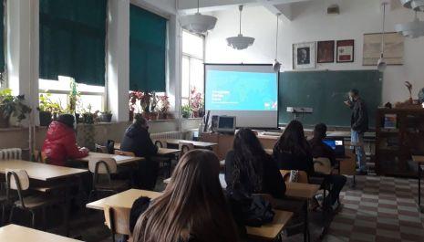 """U Gimnaziji održano predavanje pod nazivom """"Crnogorska startap scena"""" povodom obeležavanja Globalne nedelje preduzetništva"""