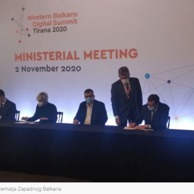 Sekulić potpisala Memorandum o mapi puta za 5G digitalnu transformaciju