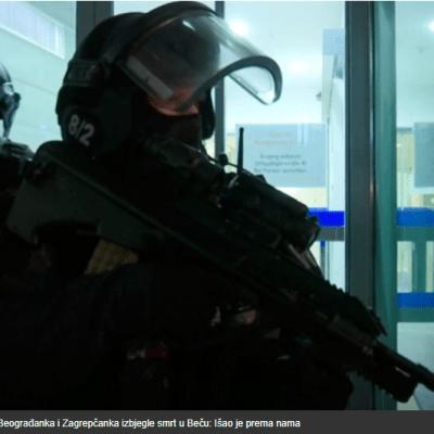 Beograđanka i Zagrepčanka izbjegle smrt u Beču: Išao je prema nama