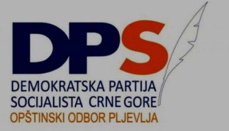 OO DPS Pljevlja: Poslaćemo u prošlost nacionalističke snage koje žele da nas vrate u srednji vijek