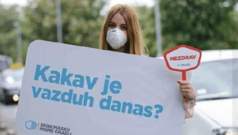 U večernjim časovima 2 decembra koktel velikih  koncentracija štetnih materija u vazduhu u Pljevljima