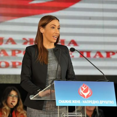 Maja Pešić, predsjednica Asocijacije žena SNP CG: Žene SNP-a neće tolerisati ovakvu brutalnost