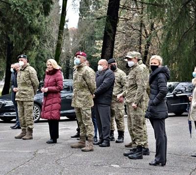 Ministarka odbrane u posjeti kasarni Masline