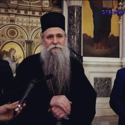 Krivokapić i Bečić posjetili hram Sv. Vasilija u Nikšiću
