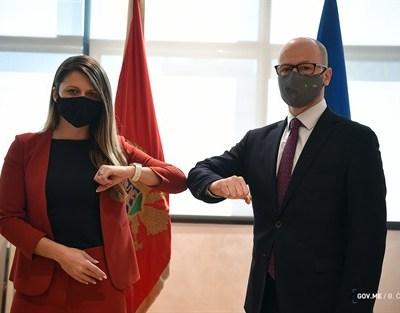 Srzentić – Presker: Jačanje saradnje u oblasti reforme javne uprave i ICT-a