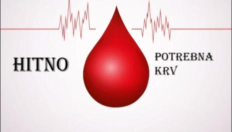Potrebne 3 jedinice krvi za sugrađanku Sonju Vuković