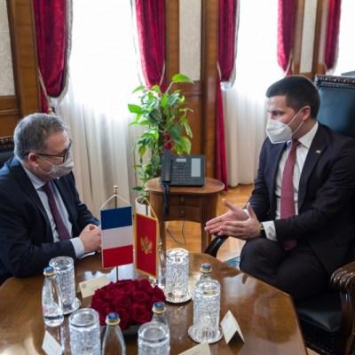 Bečić – Timonije: Francuska podržava reforme Crne Gore na putu u EU