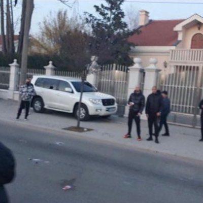 Incident ispred kuće Đukanovića u Nikšiću
