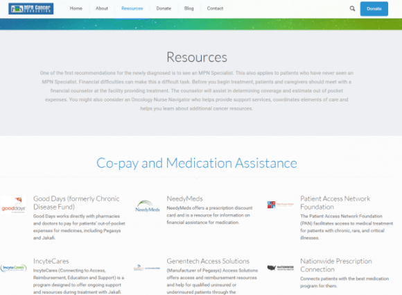 MPN-CC_Resources_Page_screen_shot