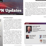 MPN Updates Newsletter #1