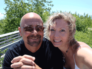 Heidi and husband Pino