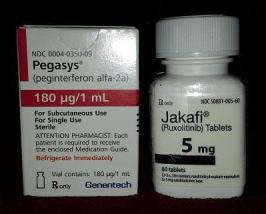 Pegasys Jakafi combo