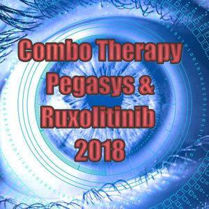combo therapy for MPNs pegasys and ruxolitinib