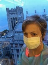 mask for stem cell transplant myelofibrosis SCT