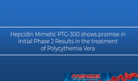 Hepcidin Mimetic PTG-300 shows promise in the treatment of Polycythemia Vera