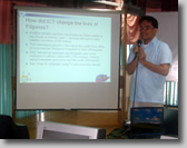 Jojo explains about what is accessible ICT.