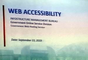 Web Accessibility Presentation