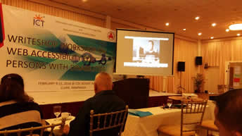 Video created by Vera Files are shown in the writeshop.