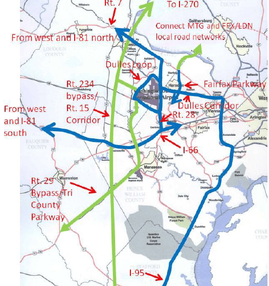 how Corridors of Statewide Significance will create roads to Dulles