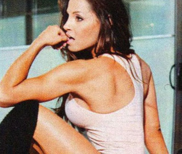 Revealing New Inside Fitness Photos Of Trish Stratus Doing Yoga Hot