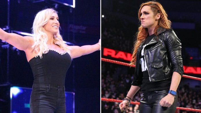 Image result for Vince Suspends & Pulls Becky From Mania Match, Replaced With Charlotte