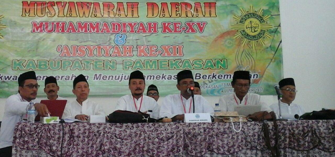 Suasana sidang Musyda XV Muhammadiyah Pamekasan (foto: dede)
