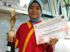 Siswi berprestasi SD Muda Kejapanan