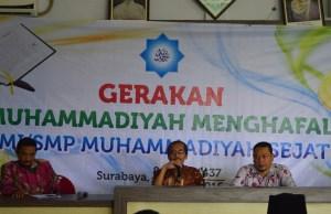 Gerakan Muhammadiyah Menghafal Al-Qur'an
