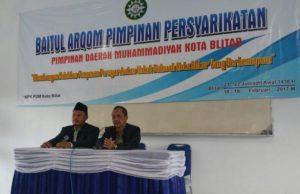 Pembukaan Baitul Arqom MPK PDM Blitar. (Foto: Panitia)