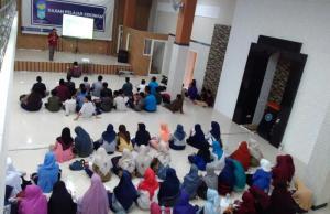 Ratusan pelajar antusias mengikuti KPK Komunitas PTP IPM Kota Surabaya. (Foto: Ferry)