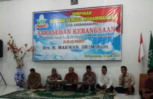 Susana Sarasehan Kebangsaan PRPM Karangagung. (Foto: Fatkhul Amin)