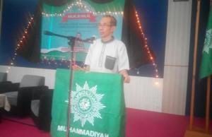Prof Wahyudi Siswanto, Ketua KBM UM Malang saat Halal bi Halal KBM UM