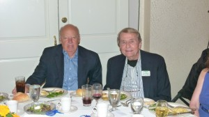 Arthur Buhr of Silver Sponsor Total Dollar Management with FOL Board member Bob Drew