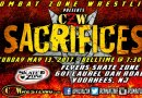 CZW and WSU May 13 in Voorhees, NJ! David Starr vs. Zack Sabre, Jr