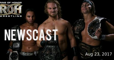 Newscast 08/23/17 FloSlam's Future, ROH & NJPW Relationship, and More