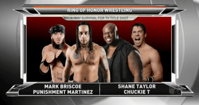 ROH 10/21/17 TV Review: 4 Way Survival For TV Title Shot