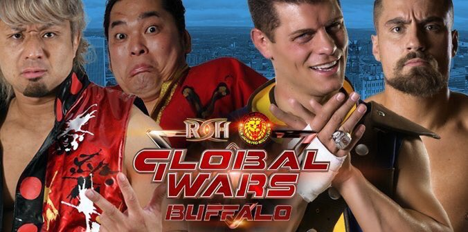 ROH10/13/2017 Global Wars Pittsburgh Review