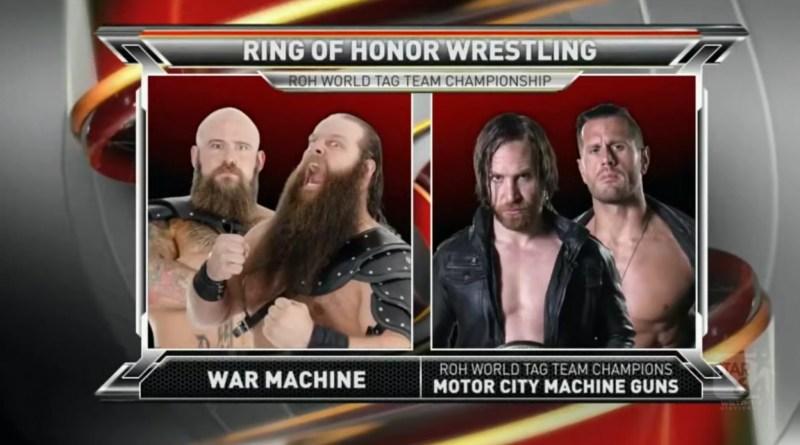 ROH 11/04/17 TV Review: Motor City Machine Guns vs War Machine