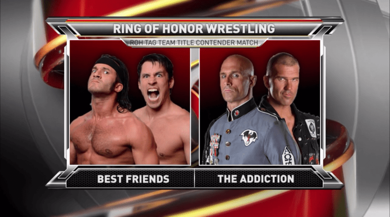 ROH 11/11/17 TV Review: Best Friends vs The Addiction