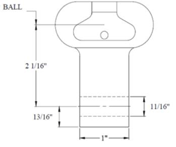 Socket Eye Clevis Adapter