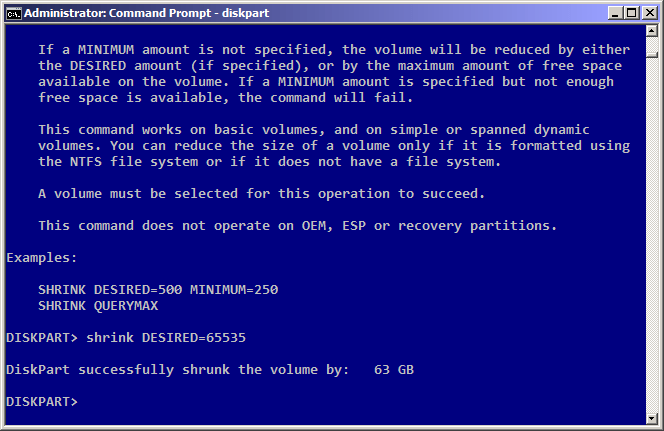 3 Easy Steps To Reduce Hdd Partition Size With Diskpart Pwrusr