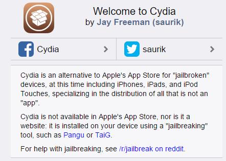 JailbreakToInstallCydia