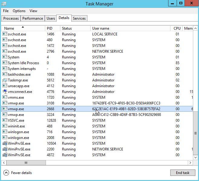 SOLVED]'Stopping-Critical' stuck Hyper-V VM   pwrusr com