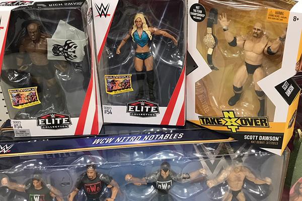 Night Stick-Mattel accessoires pour WWE Wrestling figures