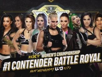 Rhea Ripley Candice LeRae NXT Battle Royal