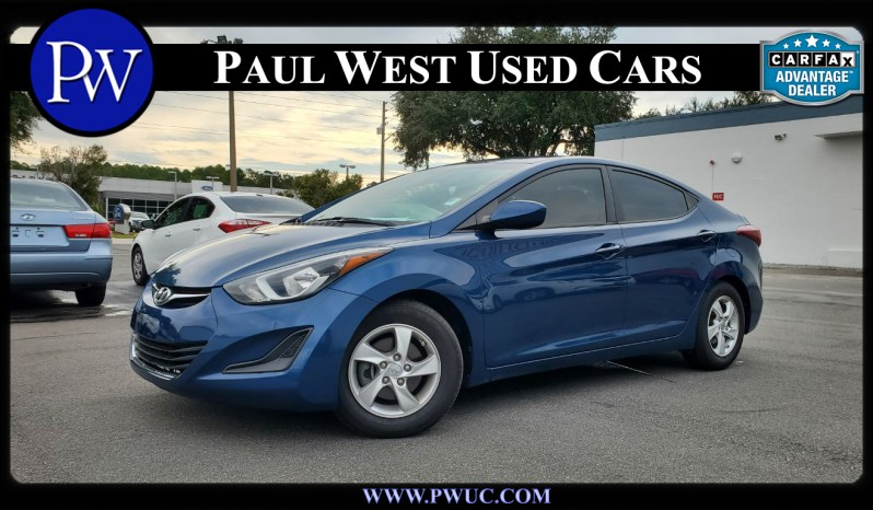 2014 Hyundai Elantra SE Gainesville FL